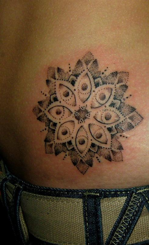 Dotwork Tattoo By Dotwork Damian