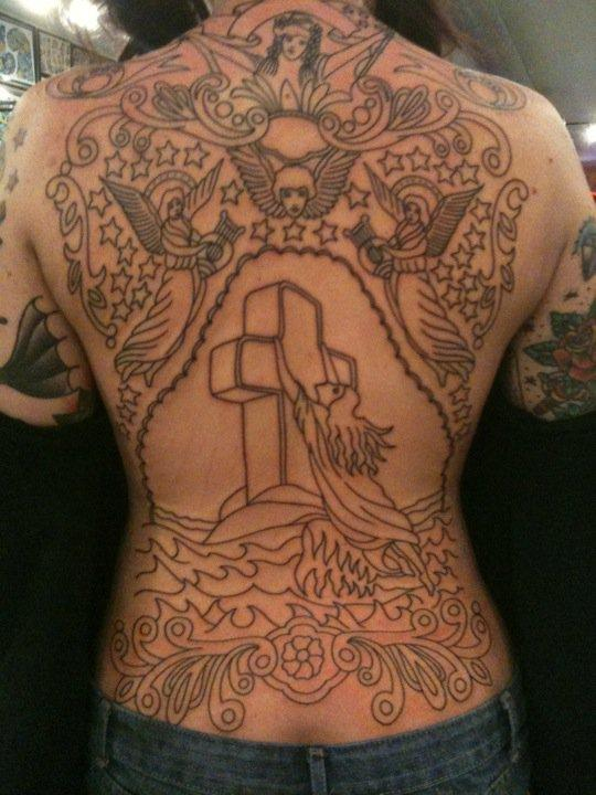 Rock of Ages backpiece outline