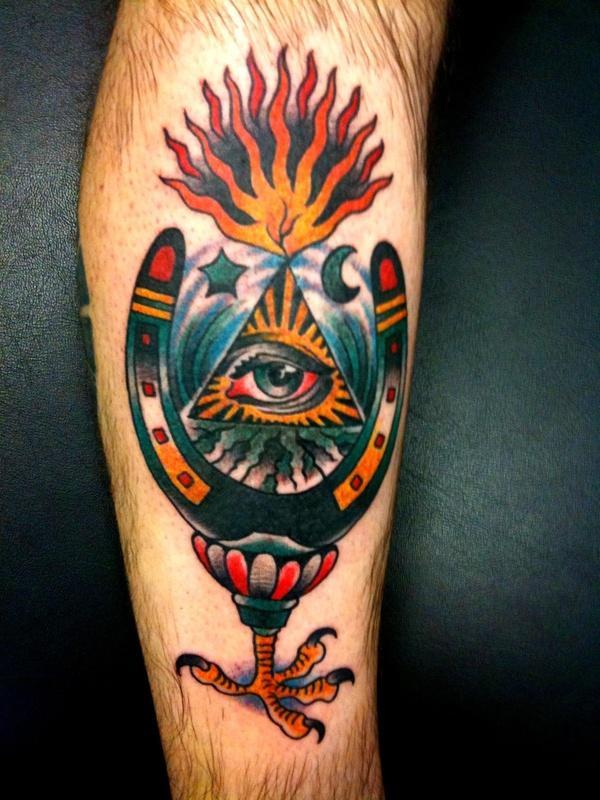 Horseshoe eye