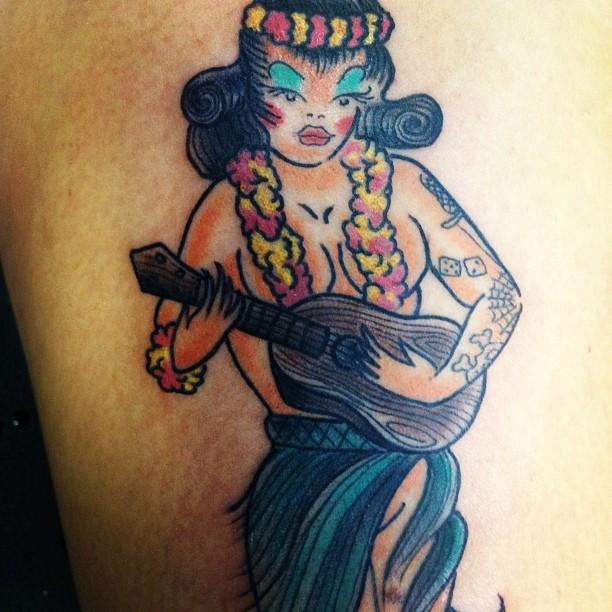 Tim Goodrich Aloha Tattoo Hawaii