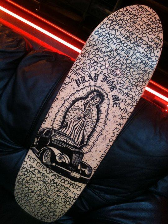 Skateboard by Tim Goodrich