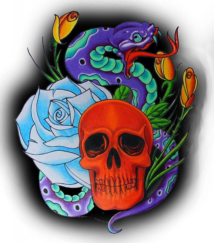 skullnsnake