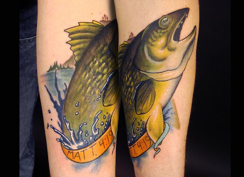 Fishers of men walleye