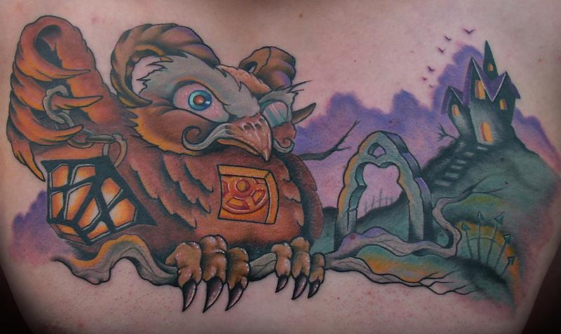 Horned Owl Chestpiece