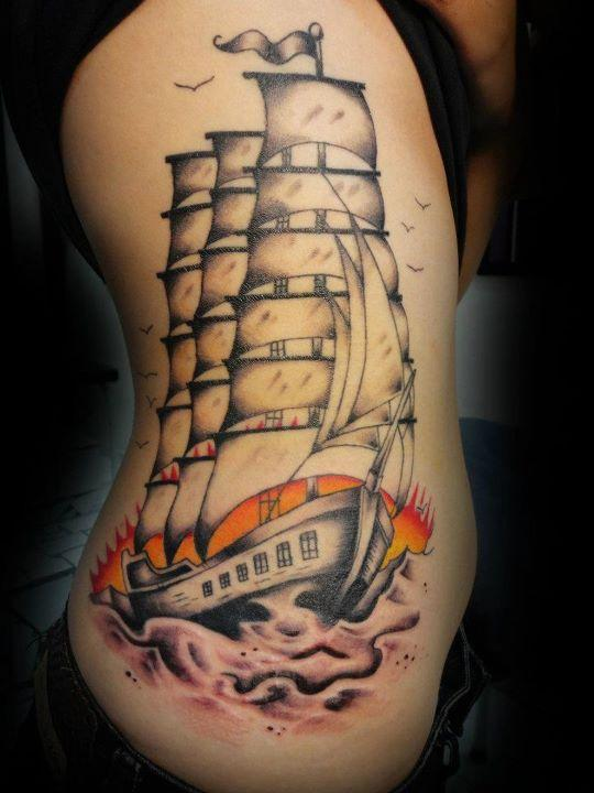 Traditional Ship