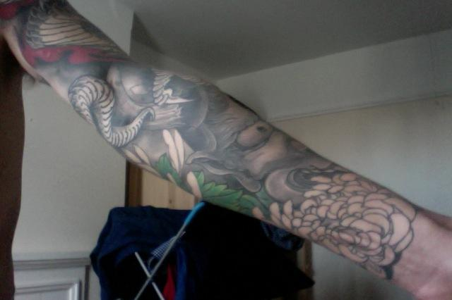 Right forearm 2