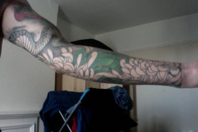 Right forearm 3