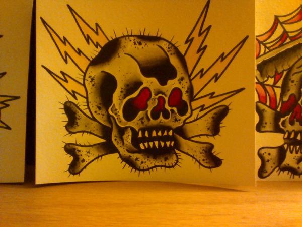 skull lightning