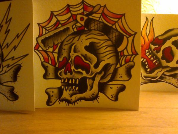 skull razor