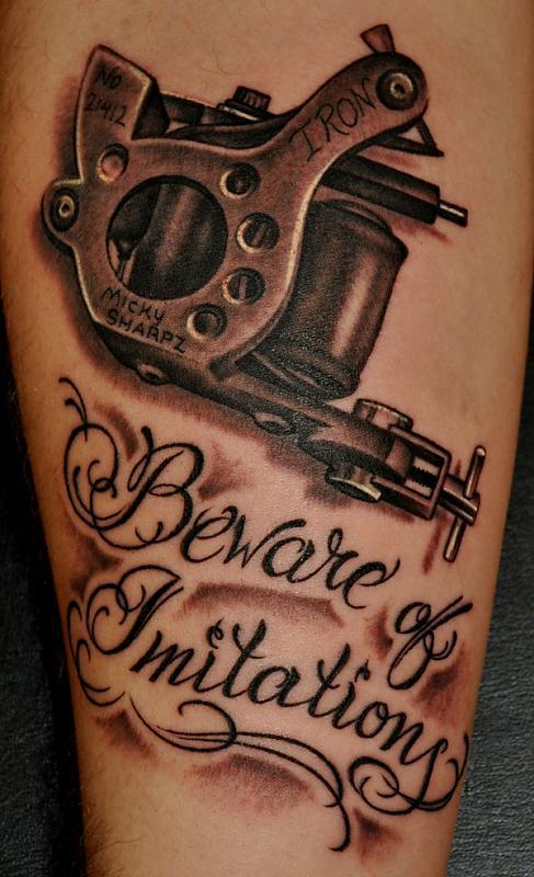 Sharpz tattoo