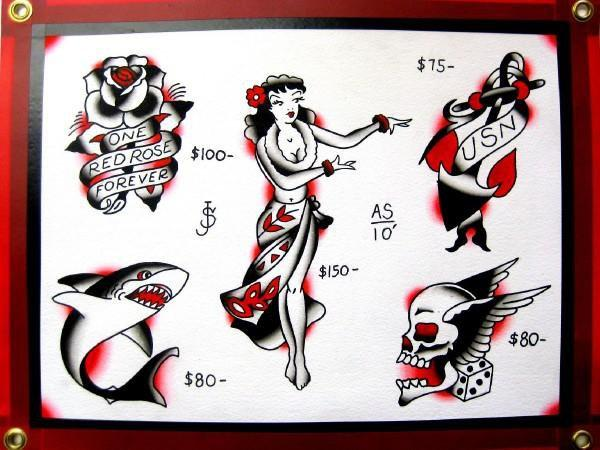 Some Sailor Jerry Flash!