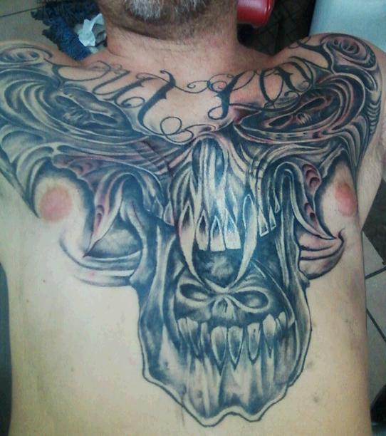 different angle of chestpiece