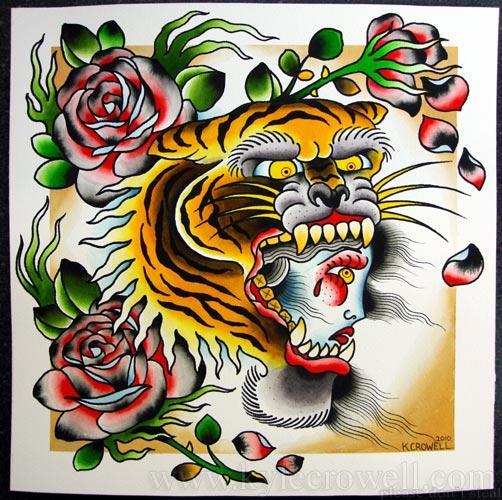 0210 tiger head