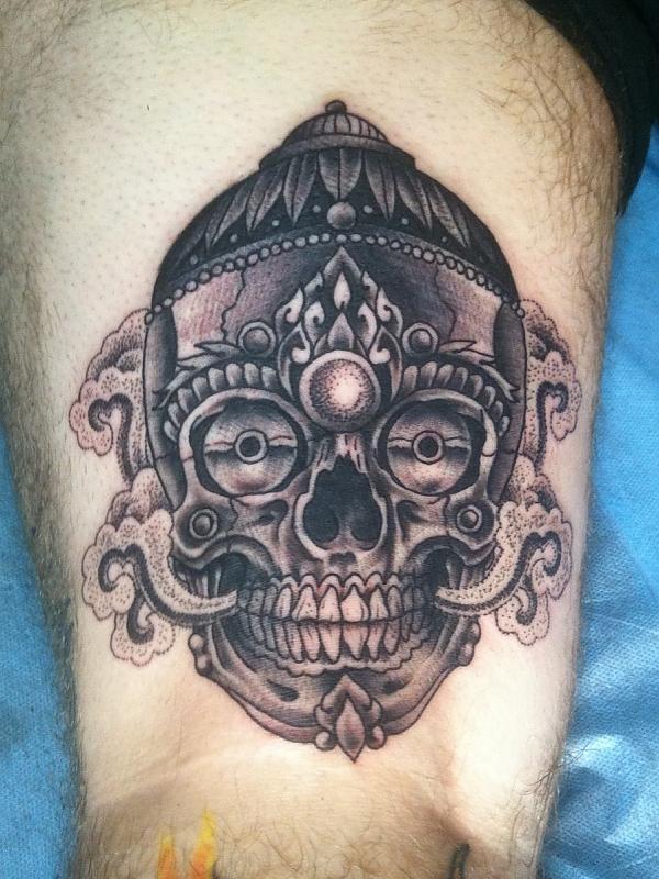 Tibetan Skull