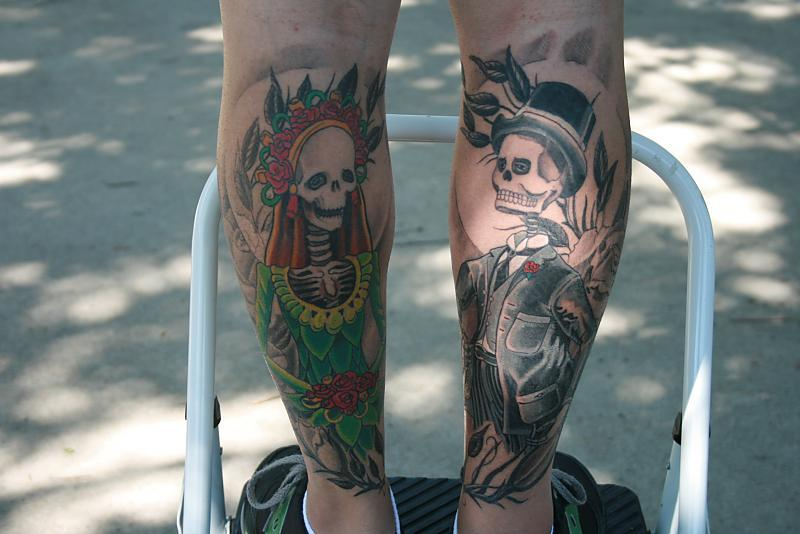 Day of the Dead on legs