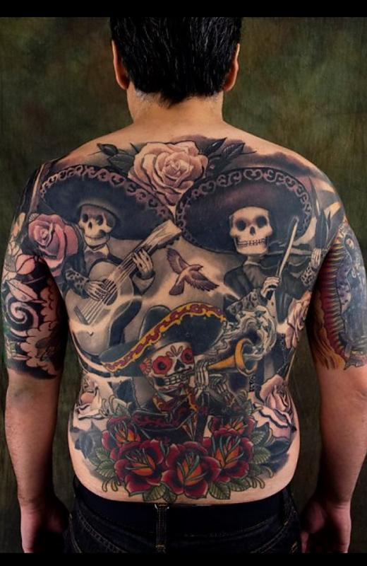 Mariachi Day of the Dead Kore Flatmo