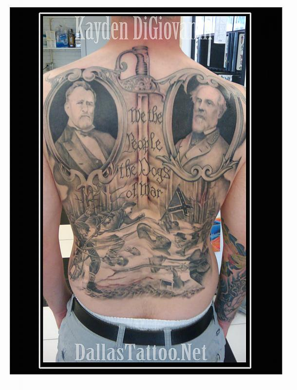 Civil War Backpiece