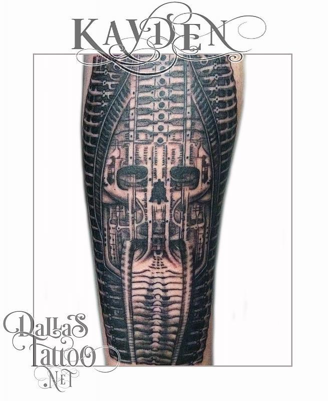 Biomechanical Skull Giger
