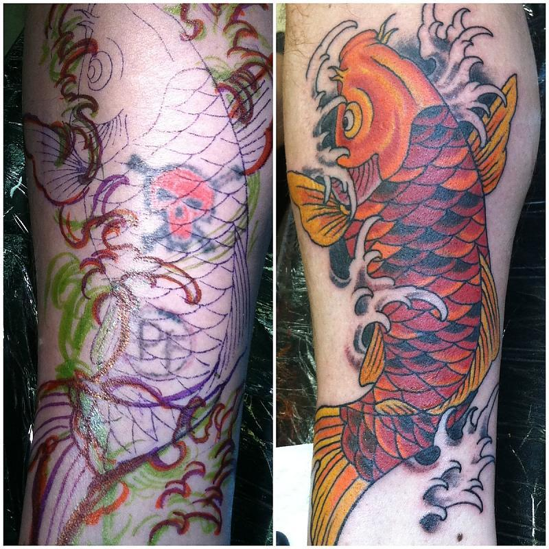 Cover-up Koi