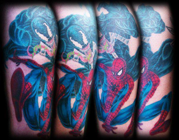 Spiderman Leg Sleeve