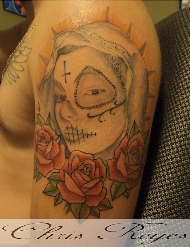 virgin mary day of the dead
