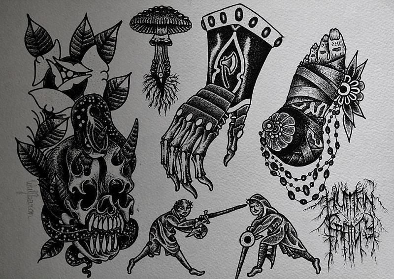 death and destruction