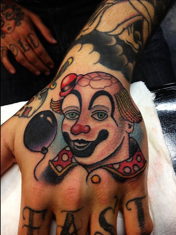 Hand Clown