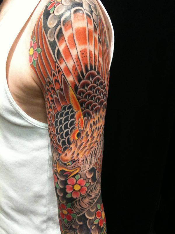 Hawk snake sleeve
