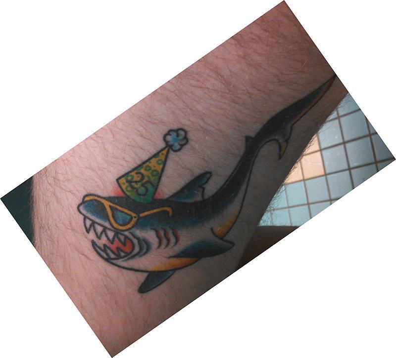 Vic Savage Party Shark
