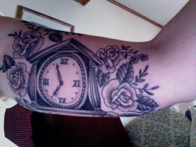 Clock by Katie Sellergren
