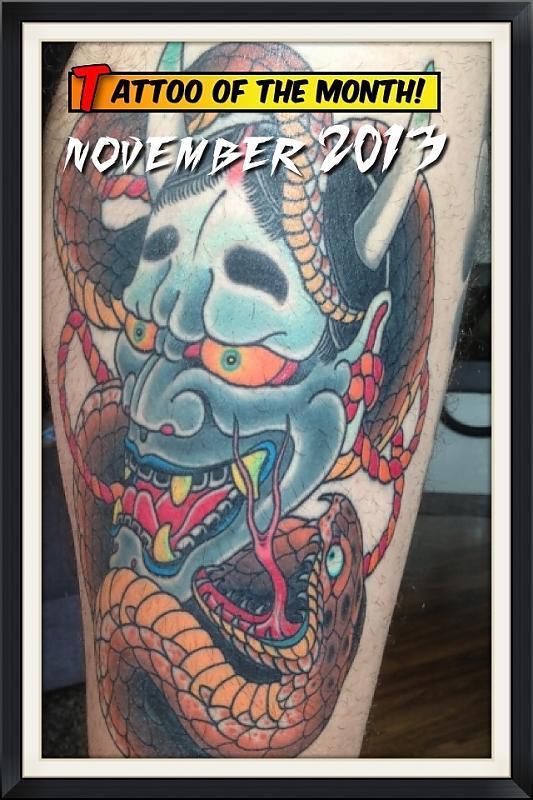 November 2013 TOTM
