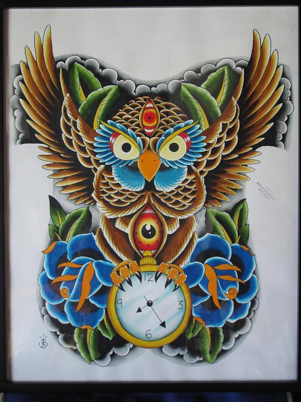 owl backpiece