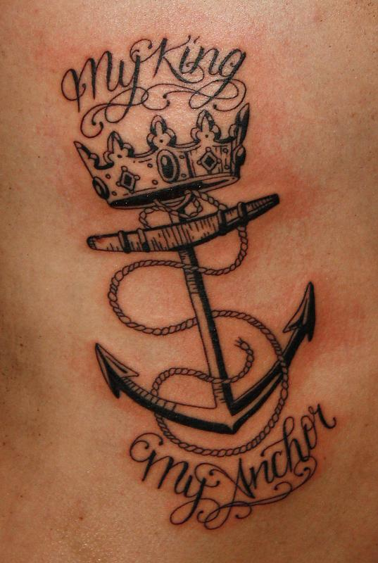 My king my anchor