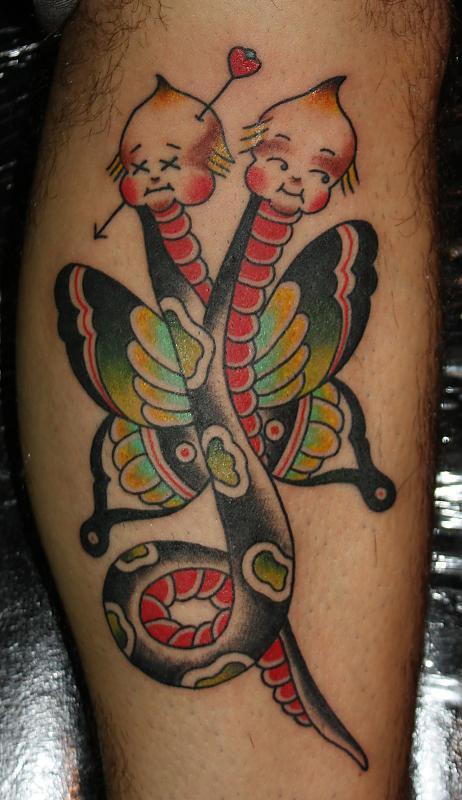 Cupie snake fly