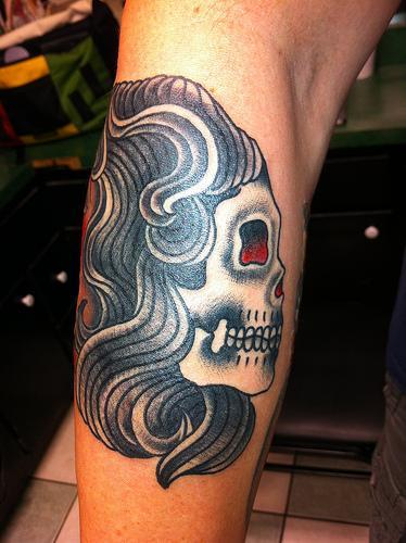 Half Woman/Half Skull