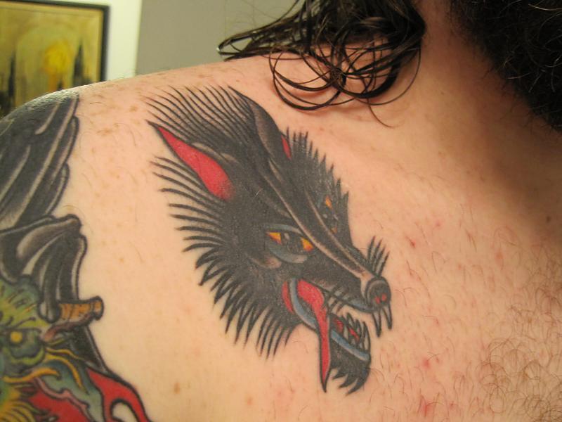 Eli Quinters wolf head