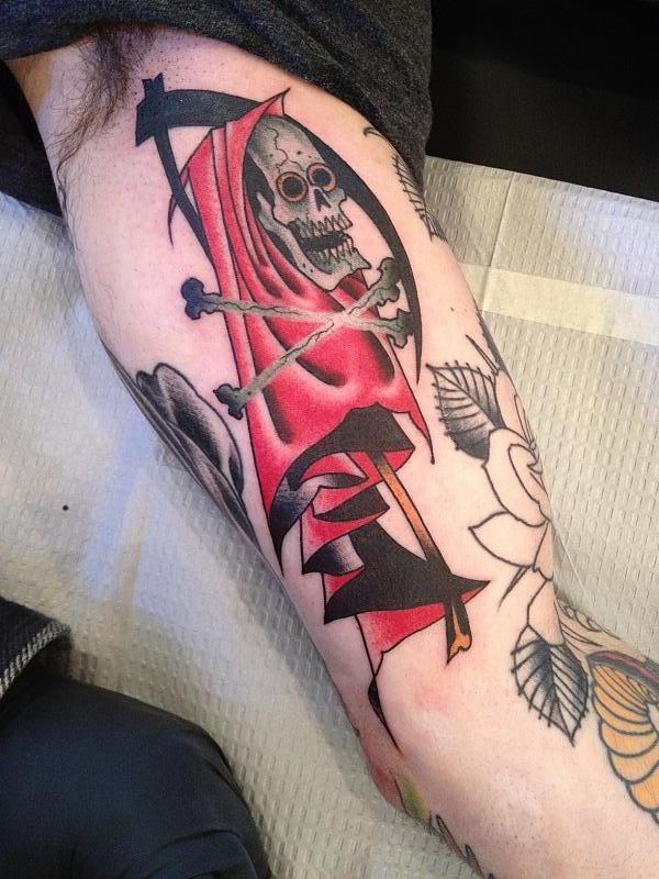 Ron Wells grim reaper