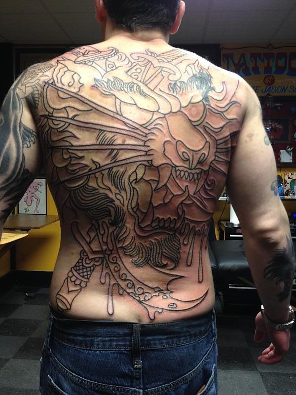 Chad Koelplinger back piece
