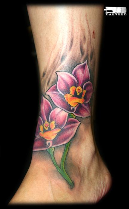 Orchid foot