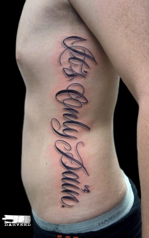 Painnnnn ribs script