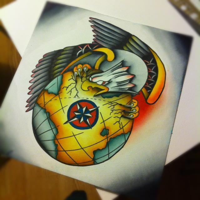 Eagle and Globe