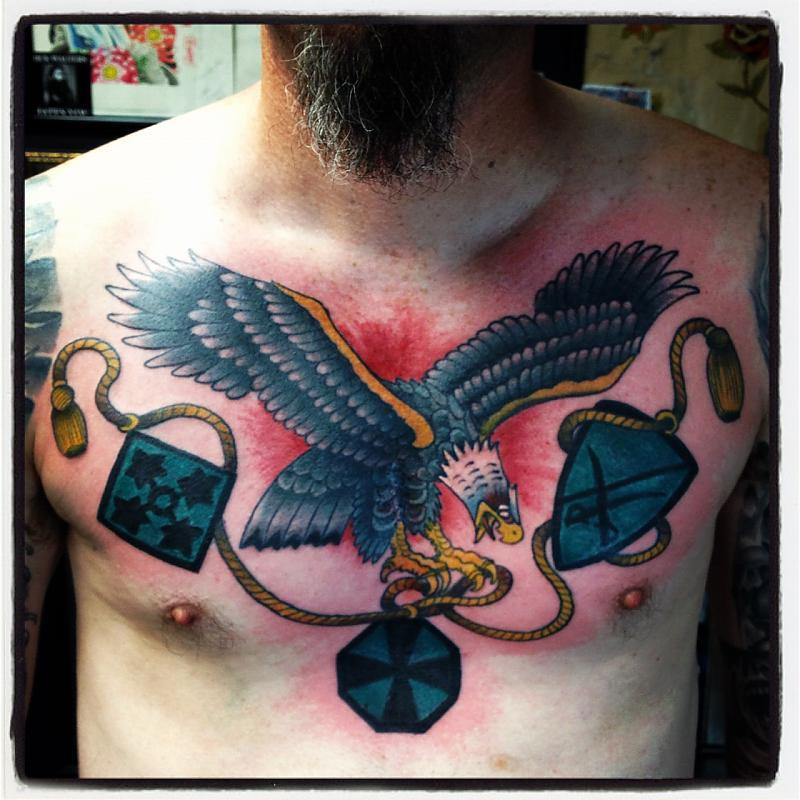 chest eagle