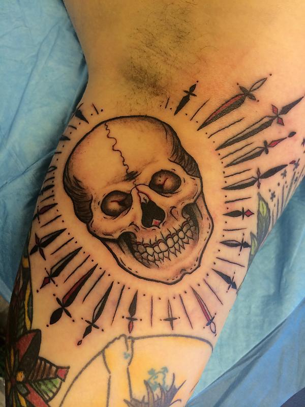 Stabby Skull