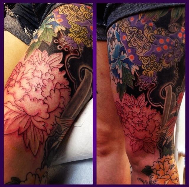 More leg detail