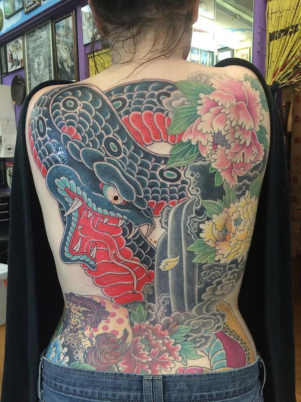 back snake