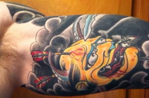 inner arm