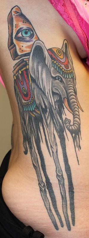 Dali type elephant