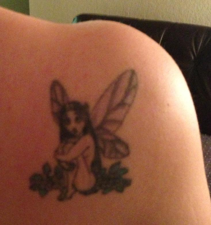 Fairy on my right shoulder