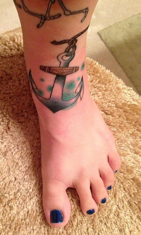 Anchor on Foot