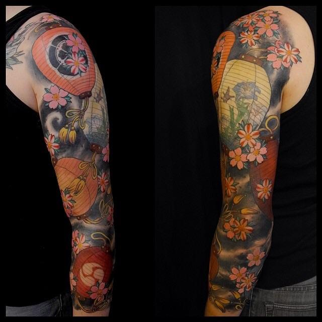 Japanese lantern sleeve